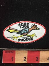 Vtg 1980 PHOENIX ROADRUNNER Arizona Patch ~ State Souvenir 72I