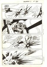 Voltron #1 p.16 - Hijacked Robot Lion Destroying Allies - 1985 art by Dick Ayers