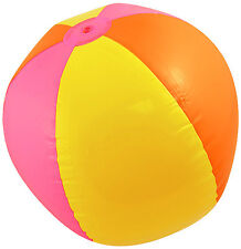 Inflatable Beach Ball 40cm Hawaiian Fancy Dress Holiday Party