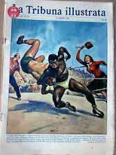 1956/37 Tribuna Illustrata-Cebu lotta-Washington Tommy Whittaker/Jack Sullivan