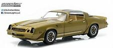 GREENLIGHT 1/18 1981 CHEVROLET CAMARO Z28 DIECAST CAR GOLD METALLIC 12907