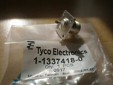2 x RF Connectors N Straight female socket  50 ohm by Tyco silver plated   Z154