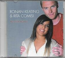 "RONAN KEATING E RITA COMISI - RARO CDs PROMO ITALY ""ALL OVER AGAIN """