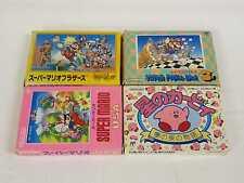 [FC] Super Mario Bros. + 3 + Super Mario USA + Hoshi no Kirby Set Famicom /41712