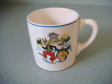 Vintage Uncle Wiggly ceramic cup sponsored by Ovaltine