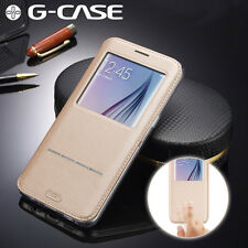 For Samsung Galaxy S7 Edge / S7 Flip PU Leather Wallet View Window Stand Case