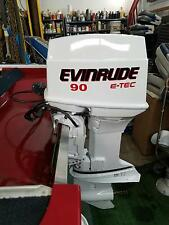 Evinrude Outboard 90 hp decals  8 - Evinrude Outboard MARINE VINYL  set
