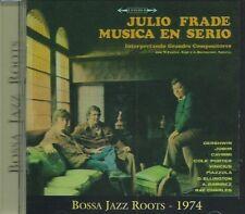 JULIO FRADE - MUSICA EN SERIO JAZZY INSTRUMENTAL BOSSA NOVA from URUGUAY CD