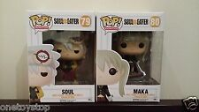 "In-hand Funko POP Animation Anime Soul Eater ""Soul & Maka"" Set Vinyl Figure"