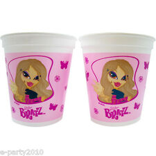 BRATZ Fashion Pixiez REUSABLE KEEPSAKE CUPS (2) ~ Birthday Party Supplies Favors