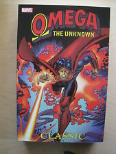 OMEGA the UNKNOWN GRAPHIC NOVEL COLLECTING OMEGA 1-10+ by GERBER,MOONEY & TRIMPE