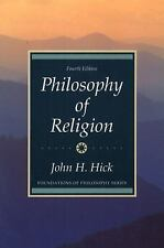 Philosophy of Religion by John H. Hick (1989, Paperback)