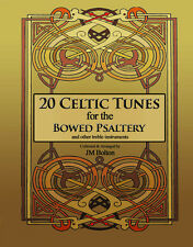 Music Book 20 Celtic Tunes for the Bowed Psaltery