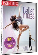 BALLET FITNESS : 2 IN 1 WORKOUT SET -  DVD - REGION 1 - Sealed