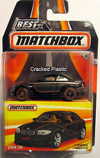 Best of Matchbox Black  BMW 1M Rubber Tire Imperfect Package