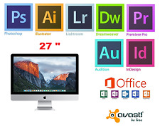 APPLE iMAC 27 inch, i7 16GB Adobe Photoshop,Illustrator,Indesign,MS Office 2016