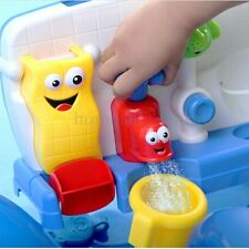 Baby Gift Fun Cartoon Yookidoo Flow 'N' Fill Spout Bath Toy Learning Toy Set