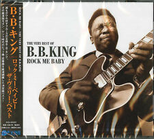 B.B. KING-THE VERY BEST OF B. B. KING ROCK ME BABY-JAPAN CD F04