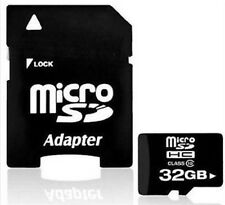 NEW 32GB Micro SD Card TF Flash Memory MicroSD MicroSDHC Class 10 Free Adapter !