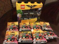 LEGO BATMAN Movie Mini figure Display Case And Sealed Figures~ Free Shipping.