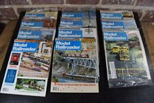 1990 Model Railroader Magazine Complete Year 11 Issues Orig Mailers Exc-Mt