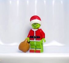 A1119 Lego CUSTOM How the GRINCH stole Christmas INSPIRED MINIFIG HOLIDAY Santa