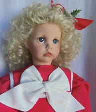 """Dianne Effner HOLIDAY HILARY 1988 Ultimate Collection Doll 25"""" Vinyl MIB"""