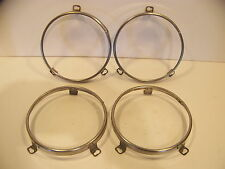 1970 PLYMOUTH ROAD RUNNER HEADLIGHT RETAINING RINGS SATELLITE GTX BELVEDERE