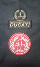 Patch / Ecusson DUCATI lot de 2