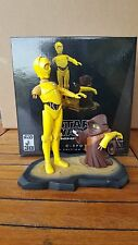 STAR WARS Statue Gentle Giant ANIMATED C-3PO / Jawa LIMITED EDITION