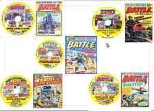 Battle, Battle Picture, Battle Action Force 1-600 + 17 Specials Comics 5 DVDs