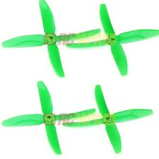 DYS X50404 Bullnose 4-Blade Propeller Props FPV Quad Race CW/CCW 4pc Set Green