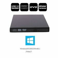 Newest USB 2.0 Combo Player DVD RW Burner Writer Drive External A++