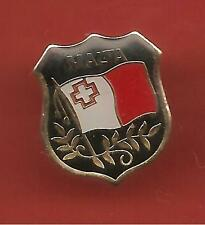 Pin's pin BLASON MALTA MALTE (ref CL09)