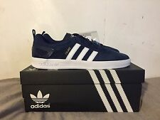 Adidas X Palace Pro Indigo White UK 9.5 Palace Skateboards Navy Blue Deadstock