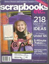 Scrapbooks Etc October 2006 Fakes/Punches/Pages under $5/Halloween/Beads