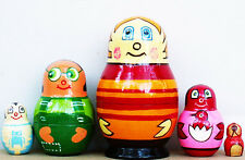 "Higglytown Heroes Nesting Stacking Dolls 4"" Fast Shipping"