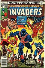 INVADERS 20 RARE DOUBLE COVER ERROR VARIANT F '75 SERIES MARVEL CAPTAIN AMERICA