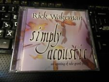 Simply Acoustic: The Music  by Rick Wakeman (CD 2001, Hope) prog Yes David Bowie