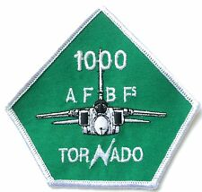 RAF no. 12 Squadron Tornado 1000 Official Military Crested Embroidered Patch