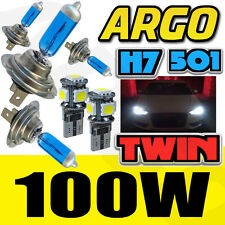 H7 501 100W WHITE XENON MAIN/DIPPED/SIDE BEAM HEADLAMP LIGHT BULBS ICE UPGRADE