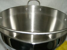 MASLIN PAN STAINLESS STEEL jam making,and chutney making.  KITCHEN CRAFT