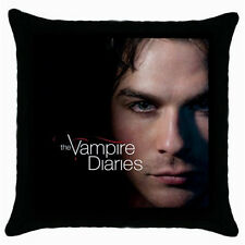 Ian Somerhalder Damon Salvatore The Vampire Diaries Throw Pillow Case/Cover-NEW