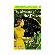 Nancy Drew #38 : The Mystery of the Fire Dragon by Carolyn Keene (1961 HC)