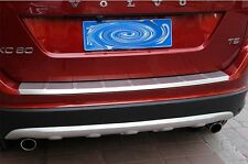 Stainless Steel Rear Bumper Protector Door Sill Plate For Volvo XC60