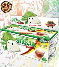 3 x Soursop Guanabana Graviola Guyabano 100% Herbal Health Tea 60 TeaBags (3x20)