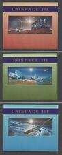 UN 1999, Unispace III, NY, Geneva, Vienna, MFNH