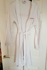 Personalised White Jersey Wedding Bathrobe Dressing Gown Bride Bridesmaid Gemma