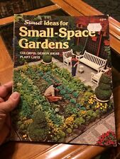 Ideas for Small-Space Gardens: Colorful Design Ideas, Plant Lists