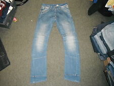 "Divided Arc Leg Waist 30"" Leg 33"" Faded Medium Blue Ladies Jeans"